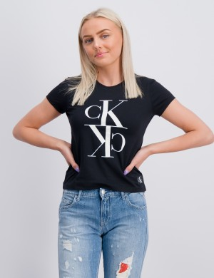 MONOGRAM CROPPED T-SHIRT