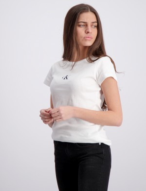 CK ONE SS RIB TOP