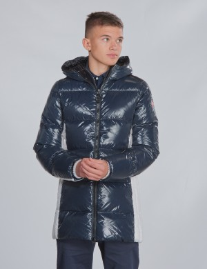 GLOSSY DOWN JACKET