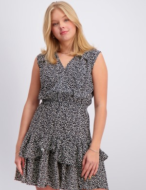 Eliza Ruffle Dress