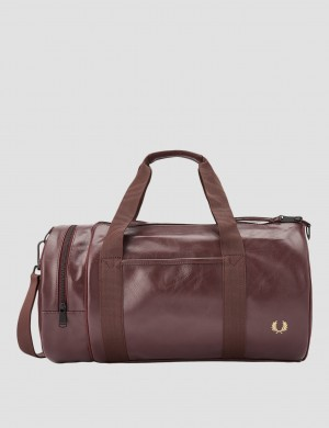 TONAL PU BARREL BAG