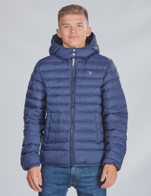 D1. THE LIGHT WEIGHT HOODED PUFFER