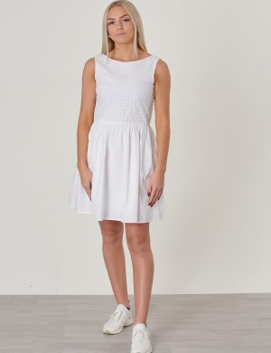 TG. BROIDERIE ANGLAISE DRESS