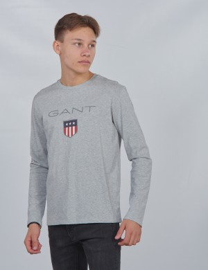 SHIELD LOGO LONG SLEEVE