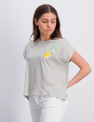 SUMMER EMBROIDERY T-SHIRT