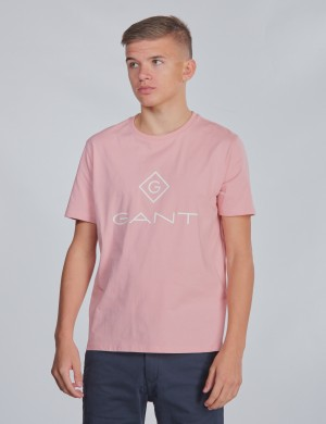 TU. GANT LOCK-UP SS T-SHIRT