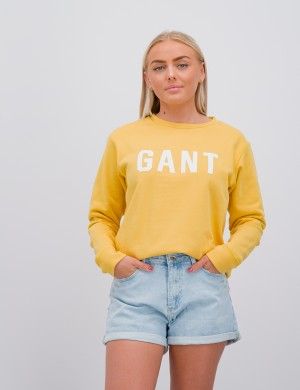 GANT LOGO C-NECK SWEAT