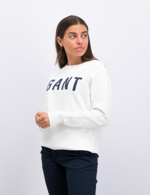 MD. GANT LOGO C-NECK SWEAT