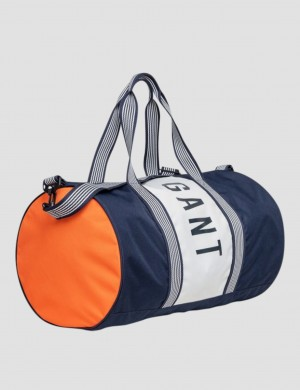 COLOR BLOCKING GYM BAG