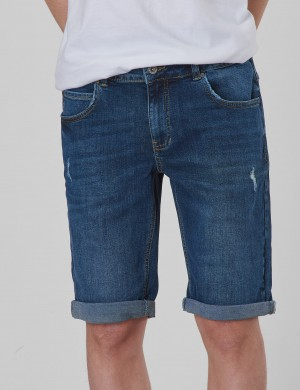 Space Shorts Western Blue