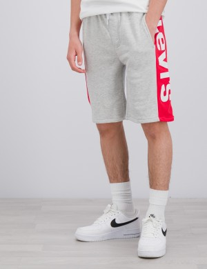 KNIT JOGGER LOGO SHORT