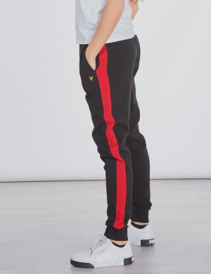 Contrast Side Panel Jogger