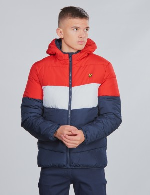 Colour Block Puffa Jacket