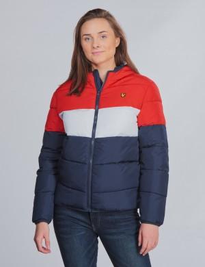 Colour Block Puffa Jacket