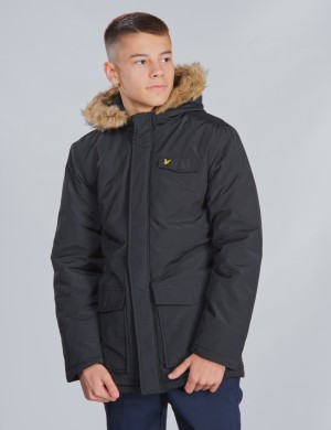 Winter Weight Micro Fleece Lined Parka