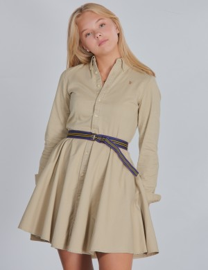 CHINO DRESS-DRESSES-WOVEN