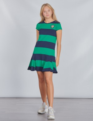 STRIPE DRESS-DRESSES-KNIT