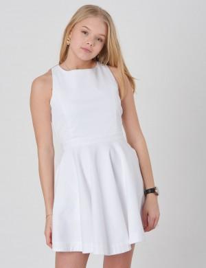 PIQUE DRESS-DRESSES-WOVEN