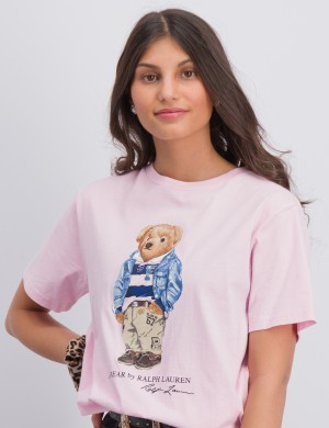 Preppy Bear Cotton Jersey Tee