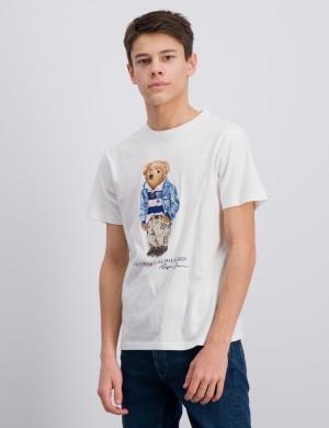 Preppy Bear Cotton Jersey Tee