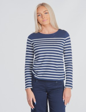 LONG SLEEVE STRP KNIT
