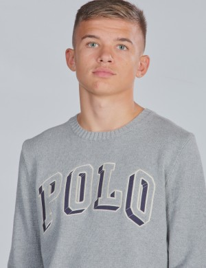 LS POLO CN-TOPS-SWEATER