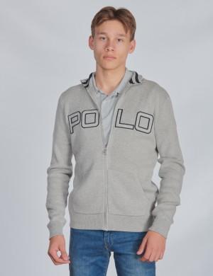 LS POLO FZ-TOPS-SWEATER