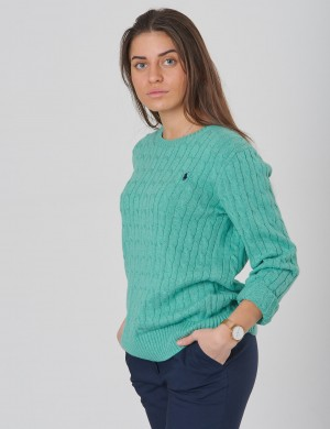 CABLE CN-TOPS-SWEATER
