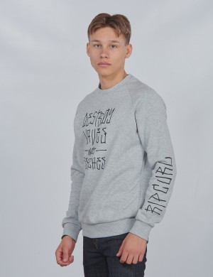 DESTROY CREW FLEECE