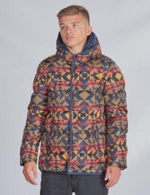 Jacket double hood