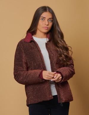 Short length puffer jacket