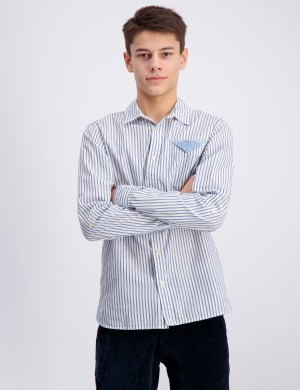 Blue series long sleeve shirt