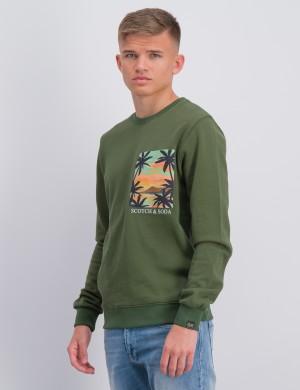 Garment dyed hoody