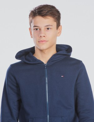 ESSENTIAL HOODED FULLZIP