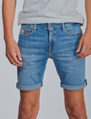 STEVE SLIM TAPERED SHORTS AUMBST