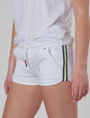 KNITTED TAPE SPORTS SHORTS