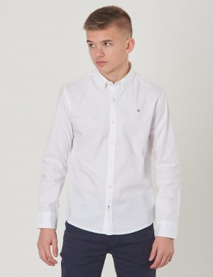 SOLID OXFORD SHIRT L/S