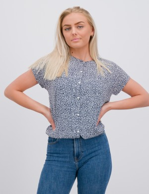 DITSY FLOWER PRINT TOP