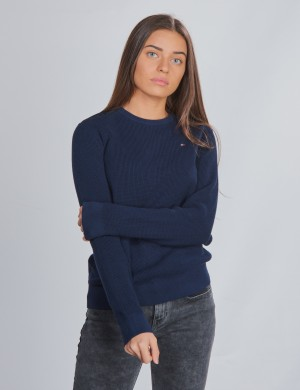 STRUCTURE WOVEN SWEATER