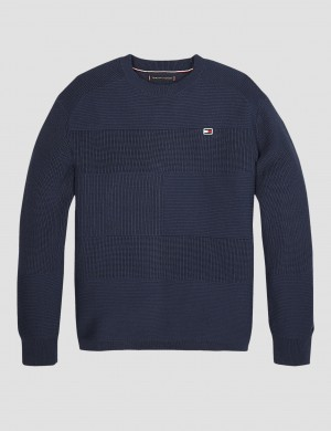 TOMMY FLAG SWEATER
