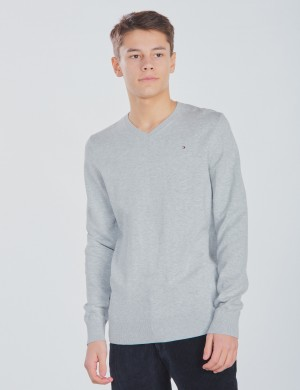 TOMMY VN SWEATER L/S