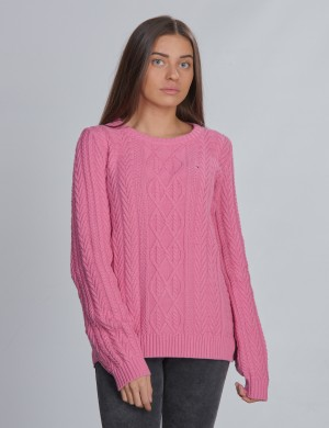 ICONIC CABLE SWEATER