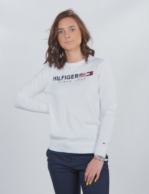 HILFIGER FLAG SWEATER