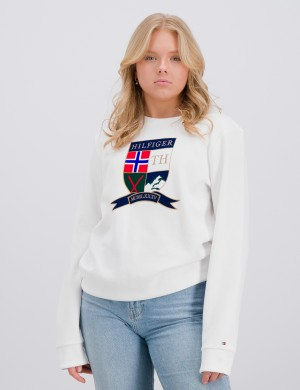 SHIELD CREWNECK SWEATSHIRT