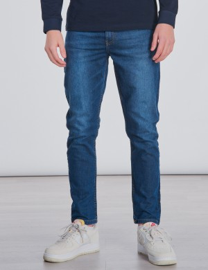 Skinny Denim Jeans Mid Wash