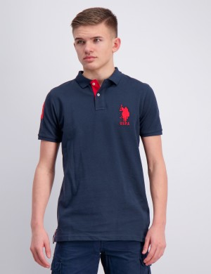 DHM Large Pique Polo