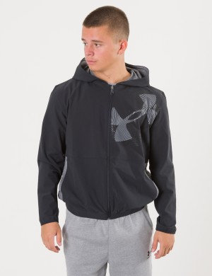 WOVEN WARM UP JACKET