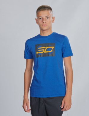 SC30 Curry Branded Short Sleeve