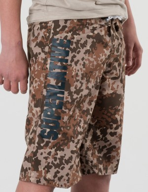 SC FLECKTARN SHORTS GRAPHICS