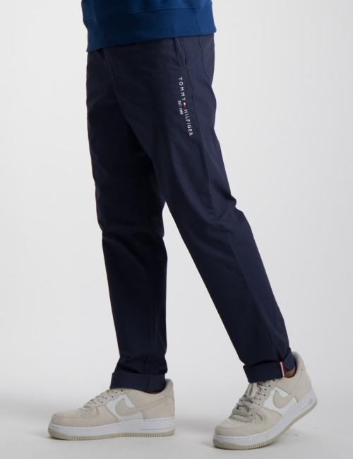 STRETCH POPLIN PULL ON PANTS